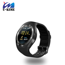 2017  Y1 Smart Watchs Round Support Nano SIM &TF Card With Whatsapp And Facebook sports Smartwatch For IOS Android