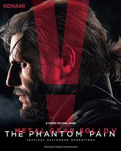 Metal Gear Solid 5 The Phantom Pain PS3 PS4 art silk Poster