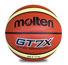 Size7 Molten PU Molten GT7X basketball Indoor&Outdoor gt7x Leather Basketball Ball Training Equipment With Pin&& Net bag As Gift(China)