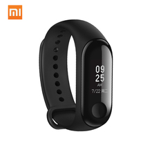 Original Xiaomi MiBand 3 Mi band 3 Smart Bracelet 5ATM Waterproof OLED Touch Screen Message Weather Display Fitness Tracker