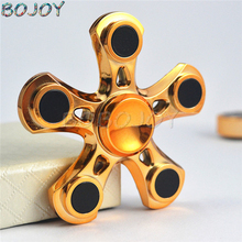Buy Hand Spinner Toys golden finger spiner Sensory stable Fidget Spinner Autism ADHD Kids Adult Anti Stress Gyro Toy new gyro for $6.00 in AliExpress store
