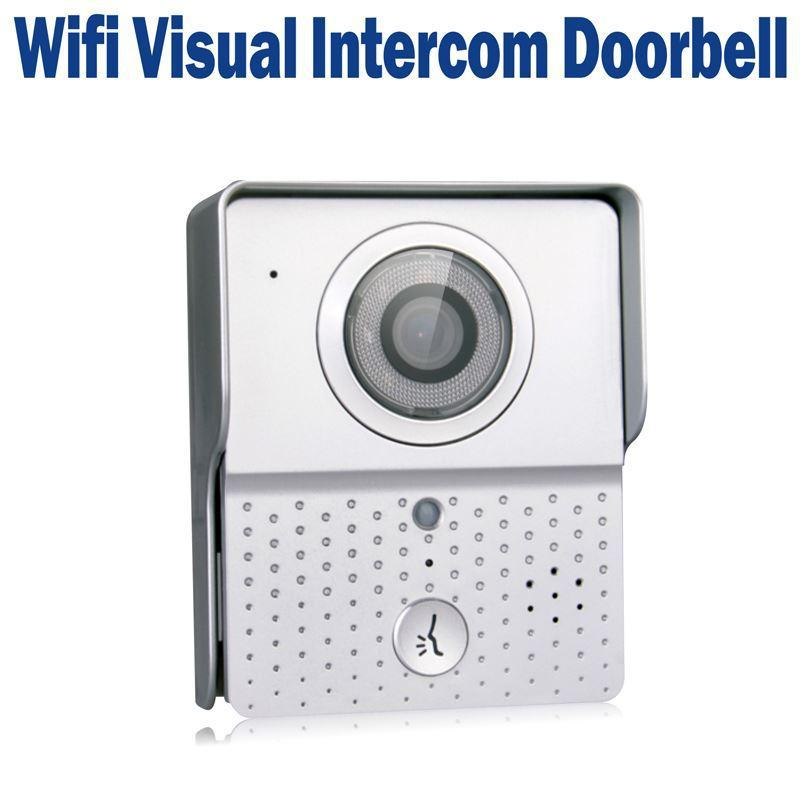 WIFI Visual Wireless Doorbell IP Intercom Door Phone Video Picture Real Time Night Vision Supports iOS &amp; Android Apps<br><br>Aliexpress