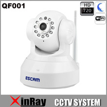 QF001 Full HD 720P IP Camera P2P Wirless Wifi Home Security CCTV Camera Built in Mic Support IOS Smart Phone