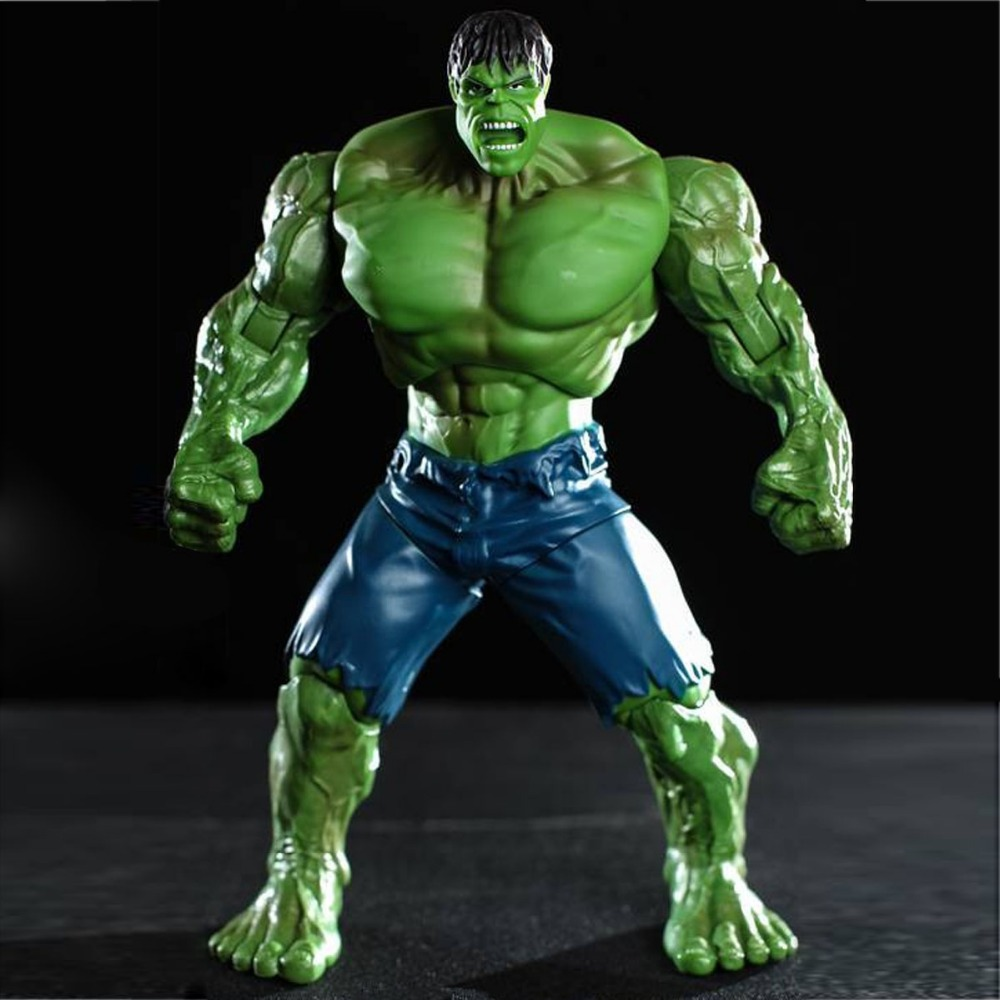 Super Hero arvel The Avengers Movie Hulk/ Green Hulk Movie 10 inches Loose Action Figure DC001008 DC001008A<br><br>Aliexpress