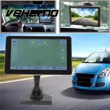 Car Truck 7 Inch High Definition HD Screen GPS System Navigator MP3 With Map(China)