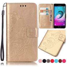 3D Embossing Flower Leather Wallet Case For Samsung Galaxy J1 J210 J3 J5 J7 A3 A5 2017 2016 2015 S8 Plus Cover Stand Capa DP22(China)