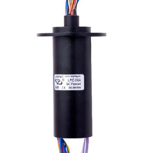 56 Circuits Models Capsule Slip Ring Length 85.7mm Electrical Test Equipment  CCTV Pan / Tilt Camera Mounts