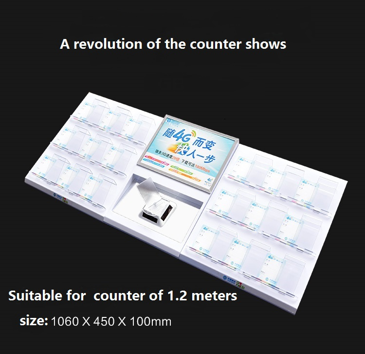 2pcs/lot mobile phone retails shop display counter holder kits<br>