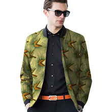 Bright colors african men baseball jacket africa print stand collar dashiki coat patchwork african clothes customized