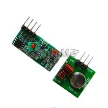 86077 1Lot= 5 pair (10pcs) 433Mhz RF transmitter and receiver Module link kit for Arduino/ARM/MCU WL diy 433mhz wireless