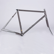 4130Chrome Molybdenum Steel Frame 52cm Road Bike Frameset Fixed Gear Bicycle Accessories Mountain Bicycle Frame Super Light