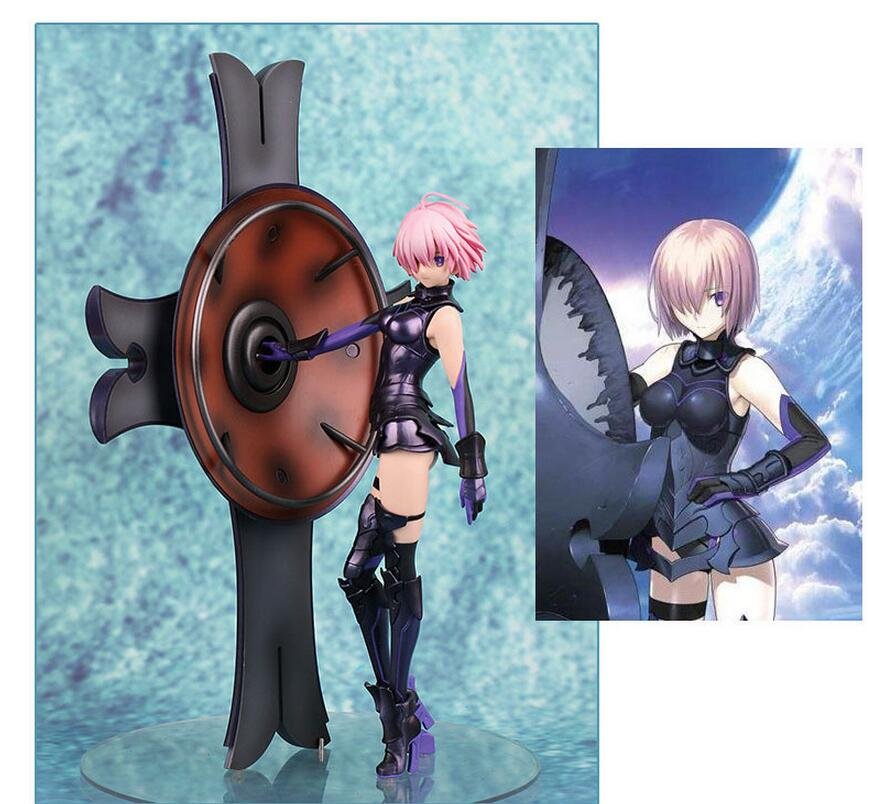 25CM Fate/Grand Order Matthew Kyrielite Shielder Mash Kyrielight Anime Action Figure PVC New Collection figures toys Collection<br>