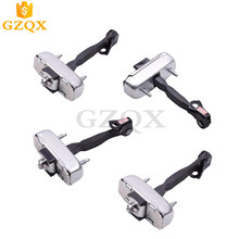4PCS Doors Front Door check strap Door limit rod door stop hinge for TOYOTA LAND CRUISER PRADO 2002 2003 2004 2005 2006