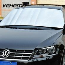 150*70CM Window Foil Windshield Sun Shade Block Car Windshield Visor Cover Block Front Sunshade UV Protect Car Window Film(China)