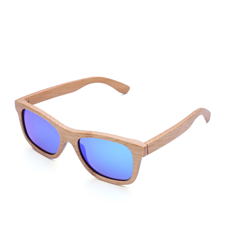 2015 wood bamboo man natural and environmental-Polarized light 100%wooden sunglasses<br><br>Aliexpress
