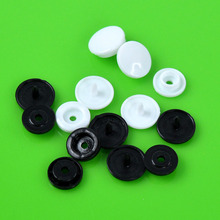Lot 100Set KAM T5 Plastic Resin Fastener Snap Button for Baby Cloth Bib Diaper