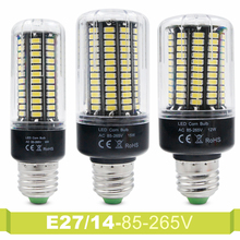 Real Watt 5736 SMD More Bright Than 5730 Corn Lamp Bulb Light 3W 5W 7W 9W 12W 15W Spot Light 85V-265V E14 E27 No Flicker Bulb(China)