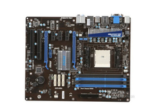 original motherboard for MSI A75A-G55 mainboard Socket FM1 DDR3 boards 32GB USB3.0 SATA3 A75 Desktop motherboard Free shipping