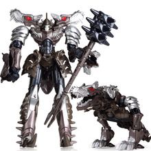 NEW Cool Transformation 5 Toy Dinosaur Tank Aircraft Military Toys Action Figures Car Robot Plastic Anime Classic Toys Boy Gifts