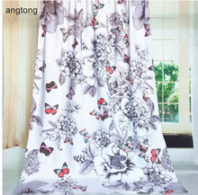 1pc 150*105cm hot selling big bath towel with butterfly print European pastoral wind thicken 100% cotton beach bath mat CR-T45(China)