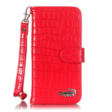 Luxury Crocodile Pattern PU Leather Wallet  Case For iPhone 6 6s 4.7 inches Women Handbag Flip Cover