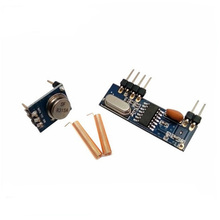 10 sets SRX882 RX Module + STX882 TX Module + SW315-TH23Golden Spring Antenna +Pins Soldering 315MHz RF Transmitter and Receiver