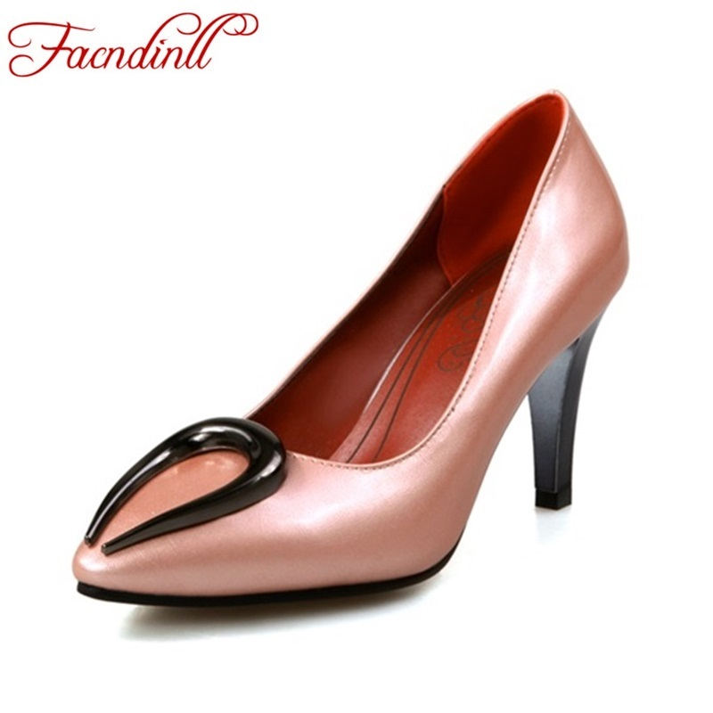 5 color high quality woman fashion pumps 2017 new sexy thin high heels pointed toe women party shoes office lady pumps plus size<br><br>Aliexpress