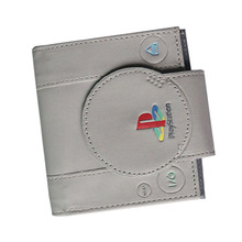 New Game Handle Playstation Men Wallets Leather Purse Multi Function Women Purse Cool Boys Wallets Zipper Coins Bag Cards Holder(China)