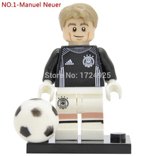 German National Football team Figure Manuel Neuer No.1 Building Blocks set model Children Toys
