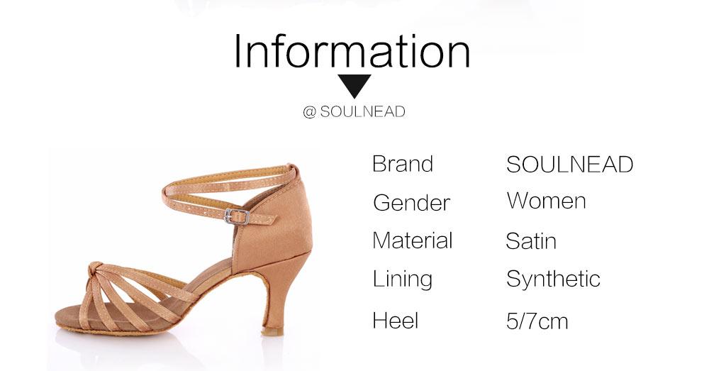Latin Dance Shoes For Women Salsa Tango Ballroom Dance Shoes High Heels soft Dancing Shoes 5 7cm Heel zapatos baile comfortable (2)