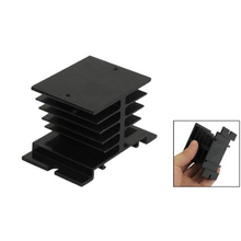 10 Pcs Wholesale Aluminum Heat Sink 80mm x 50mm x 50mm for Solid State Relay SSR