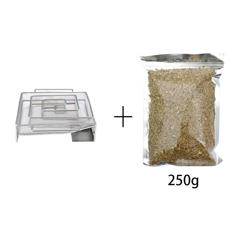 square smoker+250g