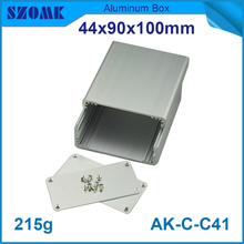10 pcs/lot aluminium cabinet electronica aluminium behuizing 44*90*100mm very smoother powder coating surface