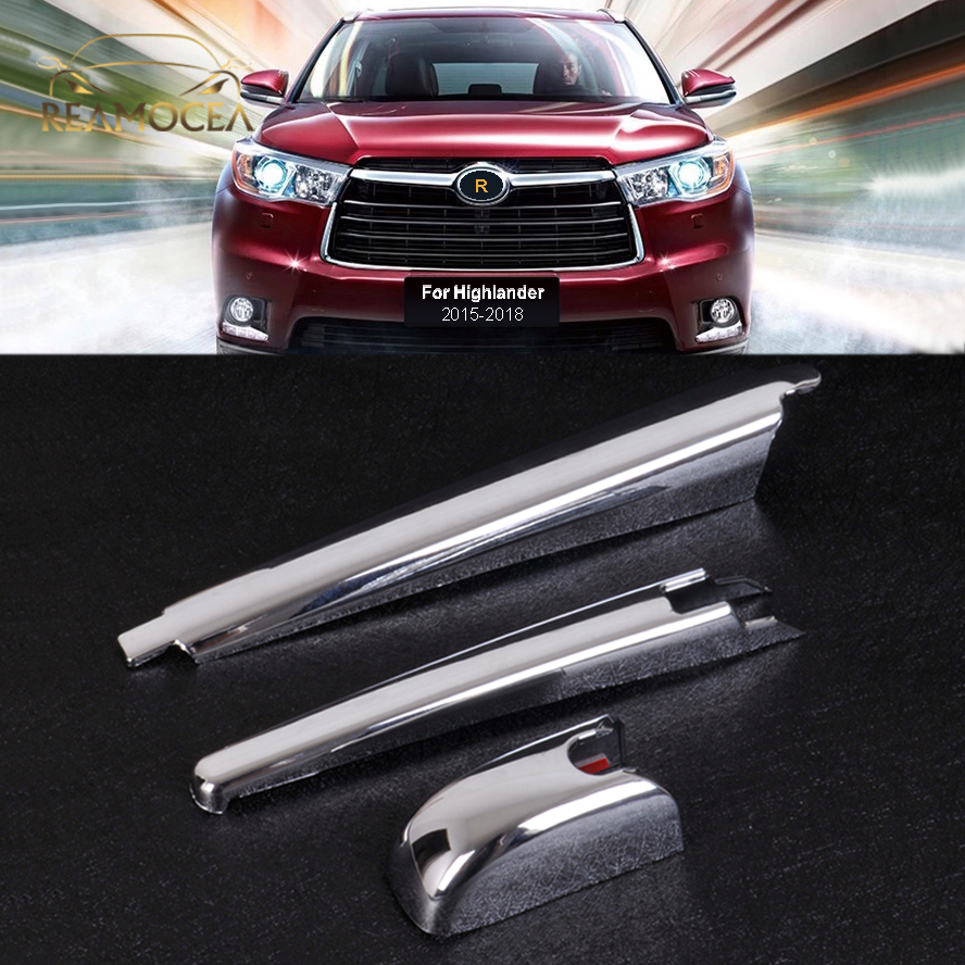 Windshield Wipers & Washers Reamocea Car Accessory Rear Windshield Windscreen Wiper Arm Cover for for Toyota Highlander 2015-2018