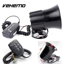 Vehemo 125dB Car Vehicle Alarm Alert Bell Speakers Amplifier Ambulance Supplies(China)