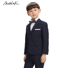 New 2016 Boys Suits for Weddings Brand 3PCS Boys Formal Blazer Suit with Bowtie Kids Blazer+Shirt+Pant Tuxedos Clothing Set,C260