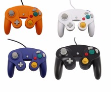 15 pcs New Controllers for Nintendo GameCube / for Wii Black Silver Orange Spice Indigo()