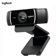 Original Logitech C922 HD Pro Stream Webcam With Micphone Full HD 1080P Video Auto Focus Web cam 14MP-C920 Upgrade(China)