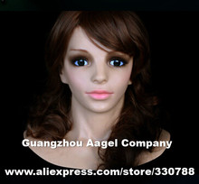 SF-16 Top quality female mask, silicone face mask, masquerade masks for crossdresser