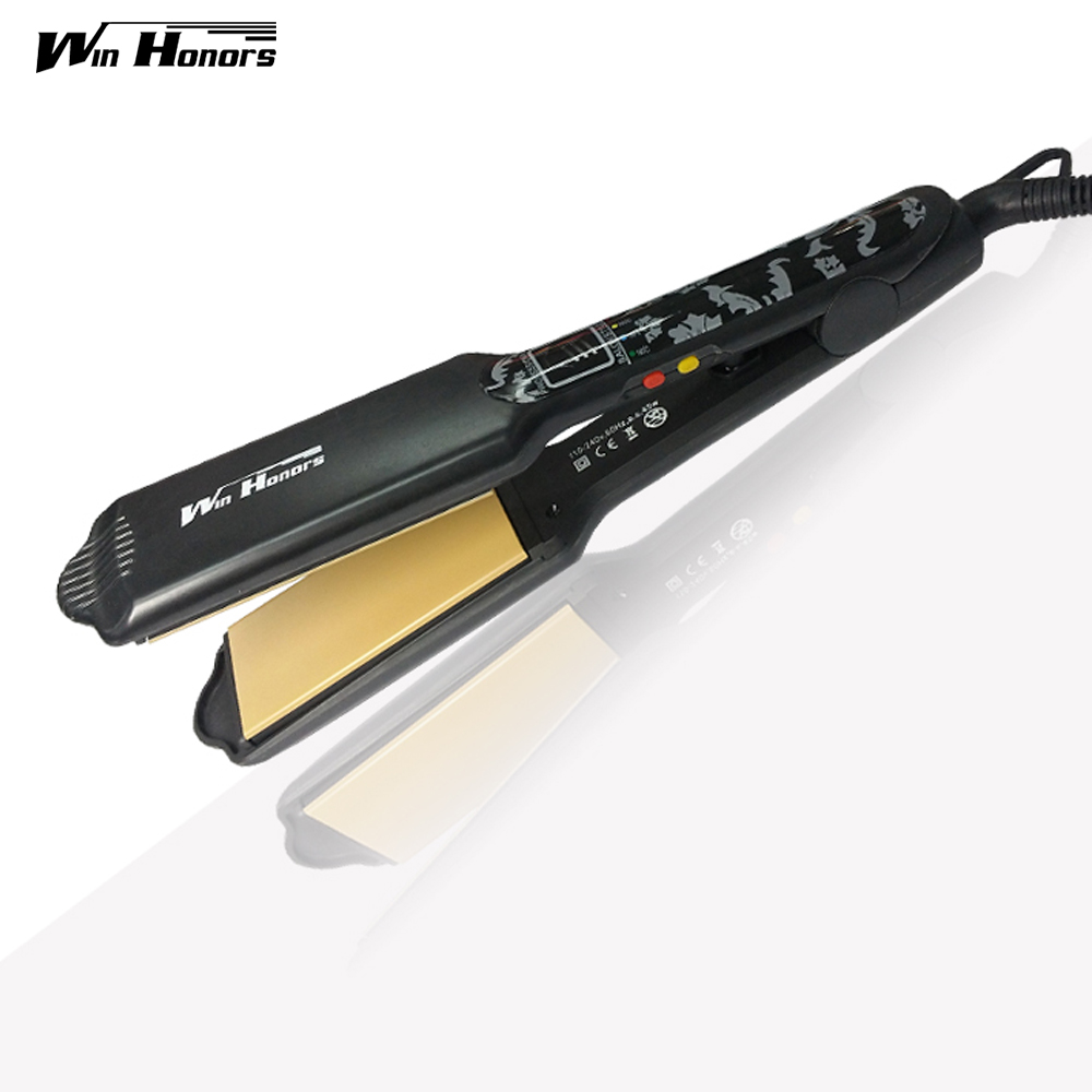 Ceramic Coating Straightening Irons Temperature Ajustable Styling Tools Professional Hair Straightener Rapid Heating<br>