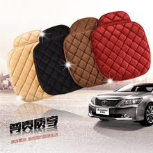 Car Seat covers  Plush Cushions Three-Piece Suit No Back Of A Chair From Antiskid Car styling Cushion For BMW Audi
