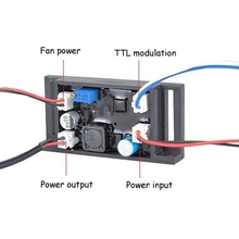 Industrial Lab/DIY 12V 980nm/850nm/808nm laser driver circuit /TTL/200-1000mA(China)