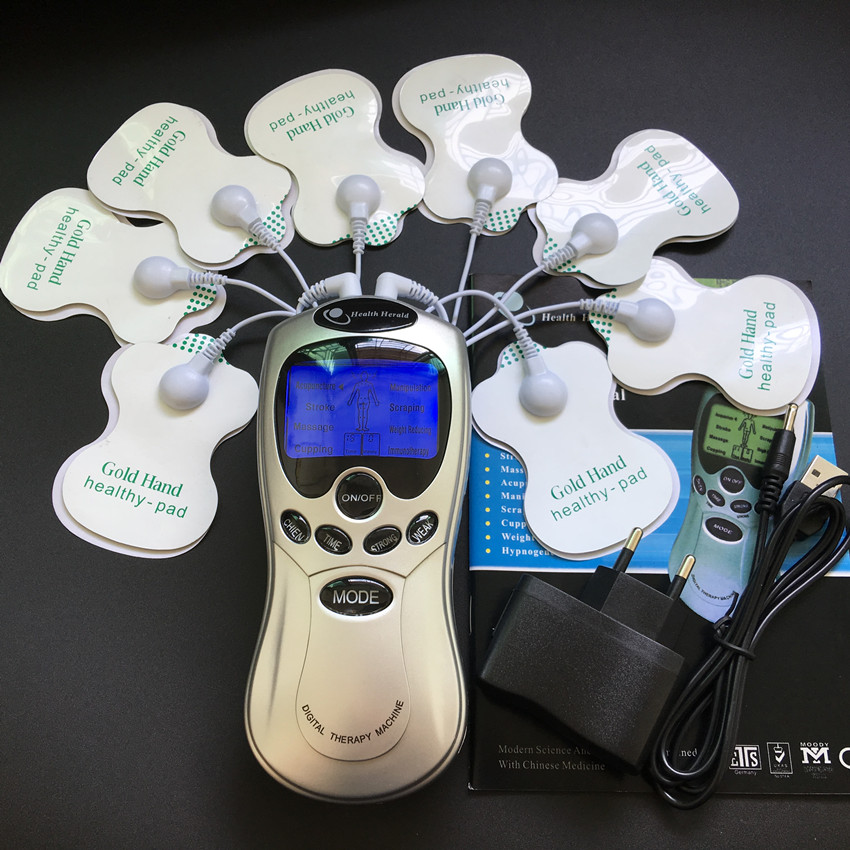 10pcs-lot-TENS-Body-care-Digital-meridian-therapy-massager-machine-Slimming-Muscle-Relax-Fat-Burner-pain