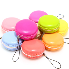 New Kawaii Soft Dessert 5cm Candy Colors Scented Macaroon Squishy Slow Rising