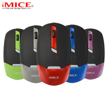 Portable 2.4GHz Wireless Mouse 1600DPI LED Optical Computer Mouse Cordless Office Mice + USB Receiver for PC Laptop Notebook(China)