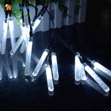 Lumiparty 20 LED Bubble Bar Picks Cone Lamp Strip decorative string light for wedding Christmas party patio decoration(China)