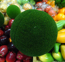 15CM Home garden artificial green plant decoration foam moss ball christmas outdoor decoration 16pcs/lot(China)