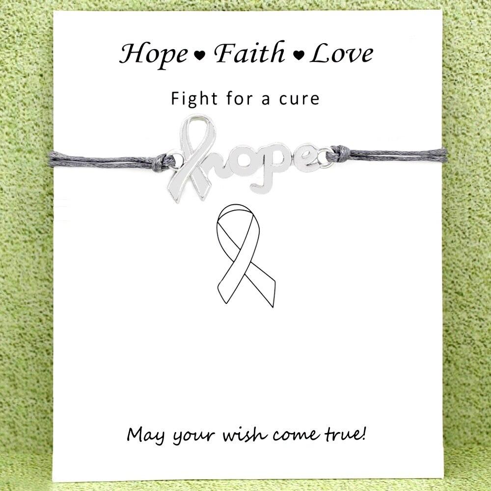fits 9mm classic Italian charms Faith Hope Love Italian charm Breast Cancer