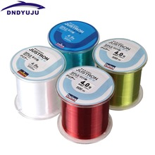 DNDYUJU RU Free Shipping Nylon Fishing Line 500m Monofilament Strong Quality Color Fishing Line Stream Reservoir Pond Lake River