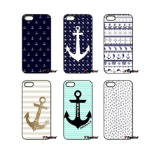 Boat Anchor Vintage Anchors Pattern Printed Case For Xiaomi Redmi Note 2 3 3S 4 Pro Mi3 Mi4i Mi4C Mi5S MAX iPod Touch 4 5 6(China)